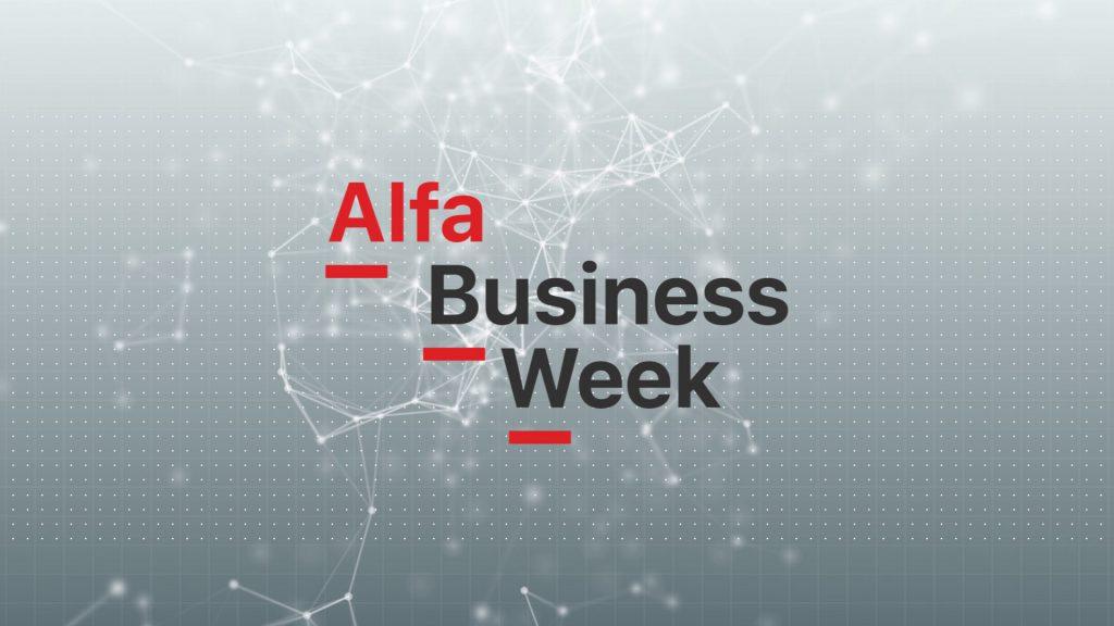 """""""Alfa Business Week"""" – оформление видеотрансляции Alpha Bank"""