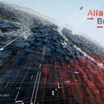 Эфирная заставка Недели Альфа Бизнес - видеоролик съемка, графические видеоролики, анимационные ролики, рекламный ролик создание