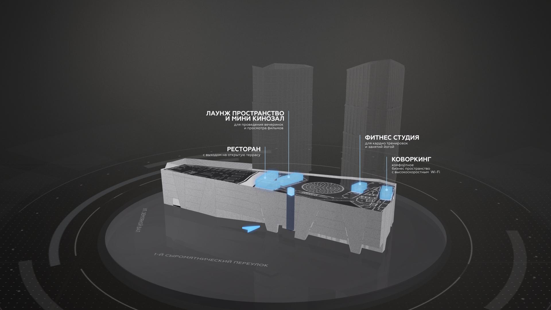 3D инфографика для интерактивной презентации - видео инфографика, анимационные ролики, 3D визуализация, создание видео инфографики
