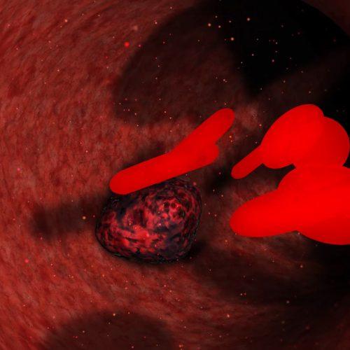 3D анимация крови - динамическая инфографика 3d, создание анимационных видеороликов, анимационные ролики, графический рекламный ролик