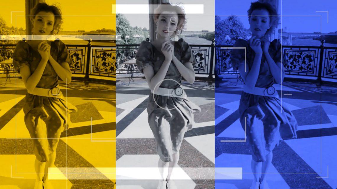 Промо фэшн проекта - видеоролик съемка, графические видеоролики, анимационные ролики, рекламный ролик создание