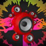 Музыкальная заставка - динамическая инфографика 3d, анимационные ролики, анимационные ролики, графический рекламный ролик